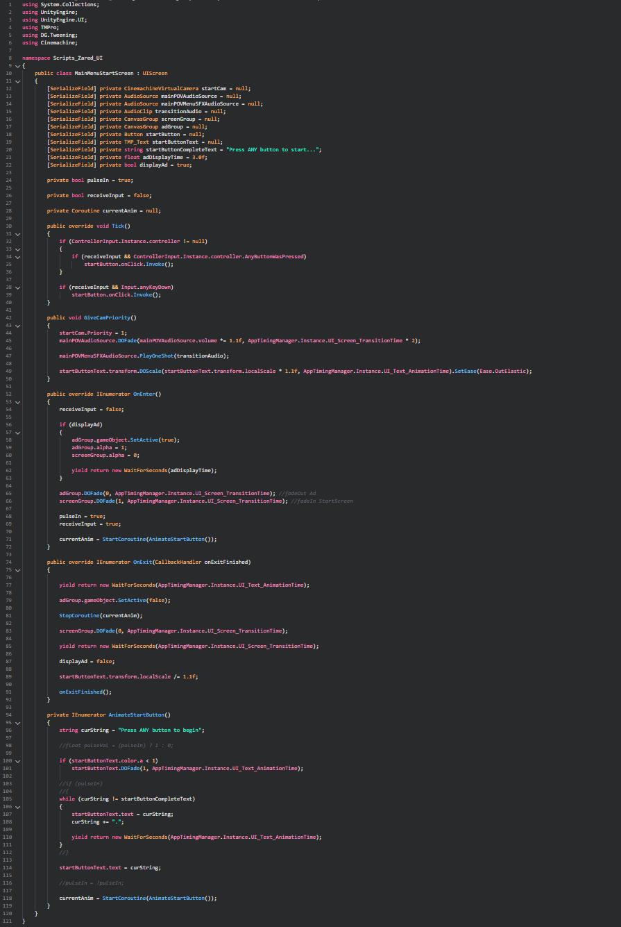 StartScreenState